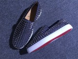 Louboutin For Man Sneakers Christian Louboutin Flat Boat Shoes