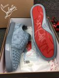 Christian Louboutin Sneaker Low Top Junior Toes With Strass Spikes Men Shoes
