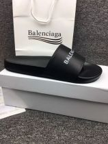 balenciga men black sandals shoes