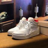 Christian Louboutin Flat Basketball Shoe High Top Men Sneaker Black Or White