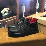 Christian Louboutin Flat Black Or White Basketball Shoe Low Top Men Sneaker