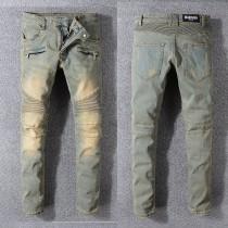 Balmain Jeans Discounts Sale MEN JEANS & TROUSERS BIKER-STYLE JEANS