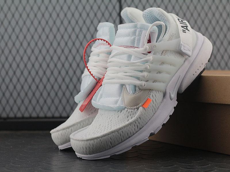 x Nike Air Presto OW 2.0 White Sneaker