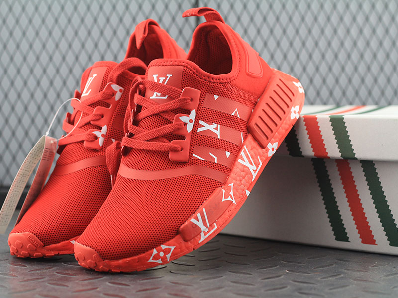 red bottom shoes for men - Adidas Shoes NMD Red Shoes - red ...
