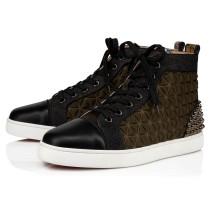 christian louboutin lou spikes III shoes