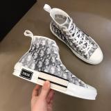 Dior shoes DIORESSENTIALS B23 High-Top Sneakers in Dior Oblique
