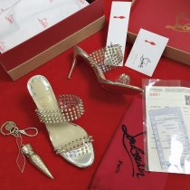christian louboutin women sandal shoes