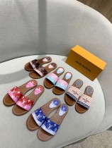 lv women slipper