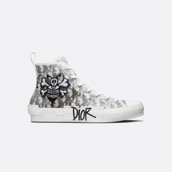 Dior x Stussy B23 High-Top Sneakers