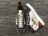 christian louboutin Lou Spikes Orlato Flat  shoes
