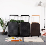 LOUIS VUITTON Horizon 50 suitcase carry case M23209 Louis Vuitton Orizon 50 Suitcase Travel Caster Carry Bag Monogram Brown
