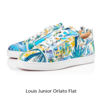 christian louboutin Louis Junior Louis Junior Orlato Flat Sneaker