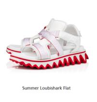 christian louboutin Summer Loubishark Flat