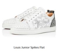 christian louboutin Louis Junior Spikes Flat Sneaker