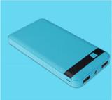 KRECOO Portable Power Bank 20000mAh External Power Bank High Capacity Dual USB with Flashlight Charge for iPhone,iPad & Samsung Galaxy & More