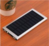 KRECOO Portable Power Banks 20000mAh External Solar Cell Battery Pack 2 USB Powerbank for iPhone,iPad & Samsung Galaxy & More