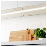 Connectible T5 5W Kitchen Under Cabinet LED Lamps Under Cupboard Lights Bar Hardwired Neutral White 4000K Lamp Length 313MM with British Power Plug Pack of 2 Lamps