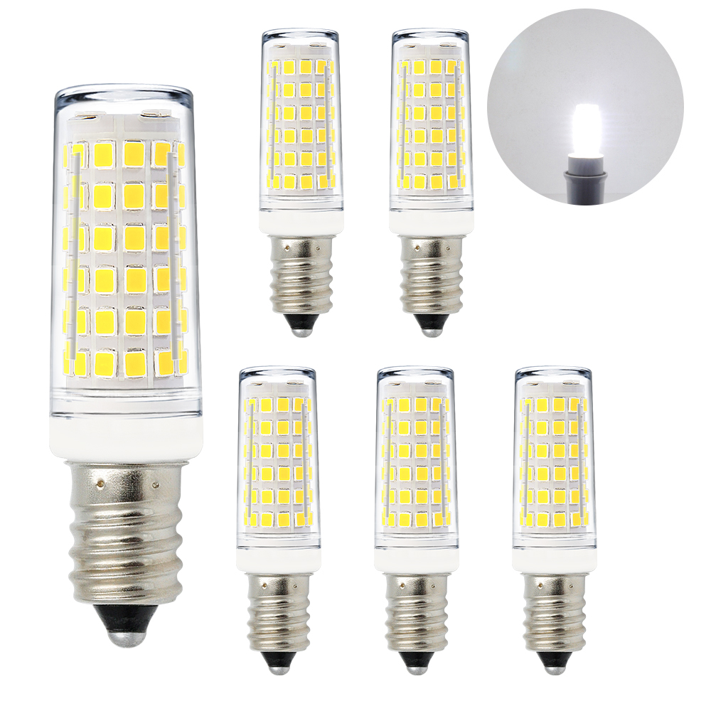 11w 1000lm Led E14 Ses Small Capsule Corn Light Bulbs Mini Lamp Cool White 6000k Ac220 240v Much Brighter Than 60w Incandescent Halogen Candle