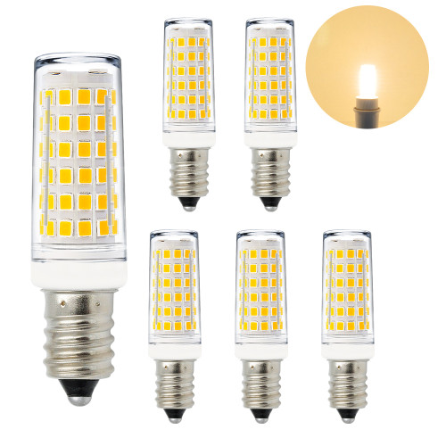 11W 1000Lm E14 SES LED Small Capsule Light Bulbs Mini Corn Light Bulbs Warm White 3000K AC220-240V Much Brighter than 60W Incandescent Halogen Candle Light Bulb 6 Pack