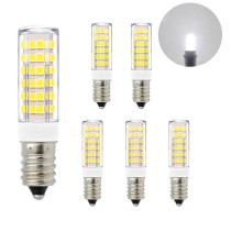 Super Bright 7W SES E14 LED Small Corn Light Bulbs Capsule Light Bulbs Lamps Cool White 6000K AC220-240V 600Lm Replace 60W Incandescent Halogen Candle Light Bulb 6 Pack