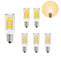 E12 SES LED Light Bulbs Capsule Bulbs Small LED Corn Light Bulbs 5W AC110-120V 400Lm Warm White 3000K Chandelier Candelabra Light Bulbs 6 Pack