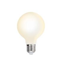 G80 LED Globe Light Bulb Type G 80 Energy Saving Edison E27 LED Bulb Lamp Warm White 3000K 6W Omnidirectional Lighting with Glass Lamp Shade 1 Pack by Enuotek