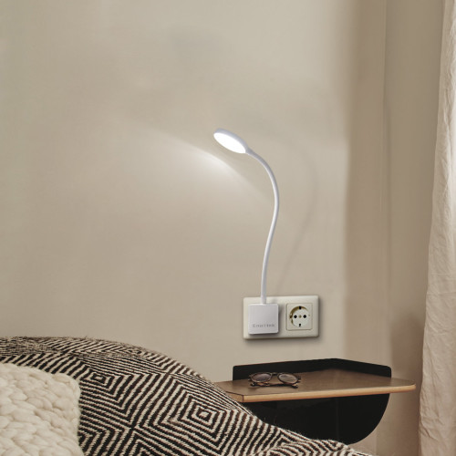 Dimmable Plug In Led Wall Light Swing