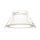 10W LED Recessed Downlight Recessed Ceiling Lamp Warm White Lighting 3000K Cut Φ90-105MM AC100~240V IP44 Dampproof
