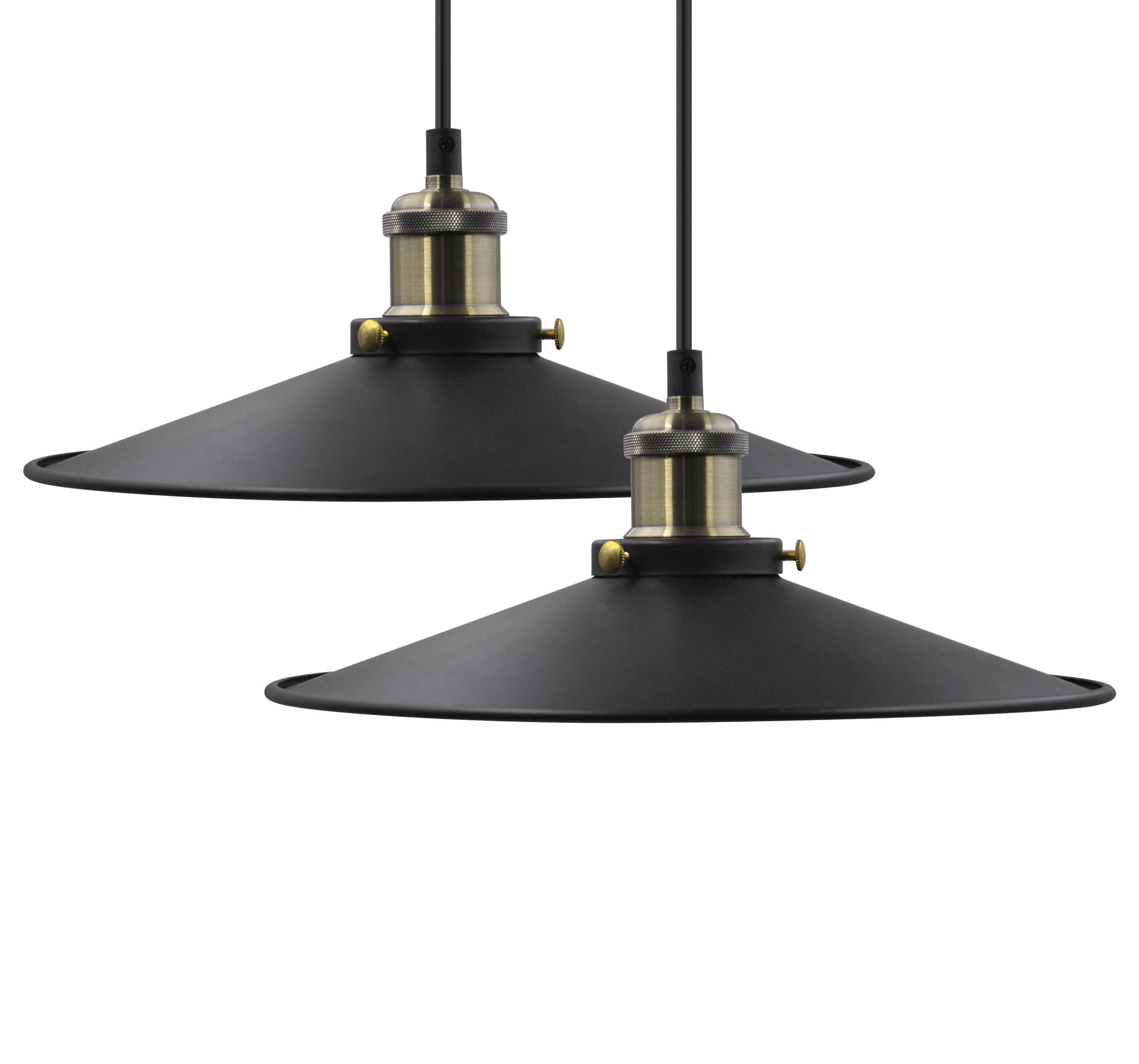 Black Vintage Ceiling Long Hanging Pendant Lights Suspended Lamps Fixtures For Dining Room Kitchen Island Restaurant Maximum 2 Meters Suspension