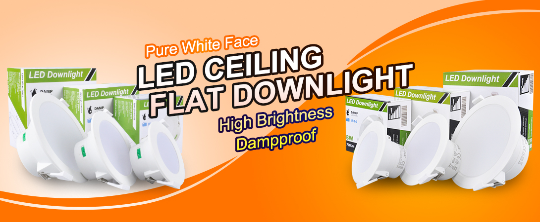 LED CEILING FLAT DOWNLIGHT