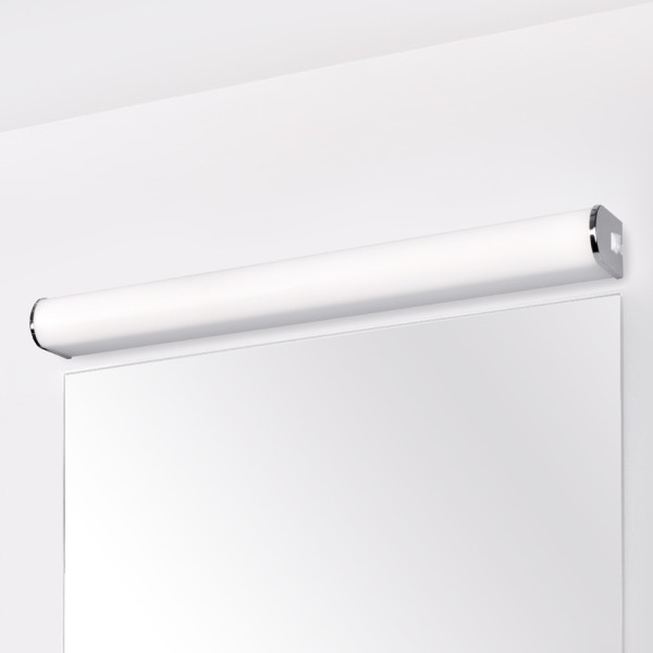 15W LED Bathroom Vanity Wall Light Fixture Above Mirror Under Cabinet Lamp Width 60CM IP44 Wide Lighting Range 1200Lm Natural White 4000K Not Dimmable 1 Lamp by Enuotek