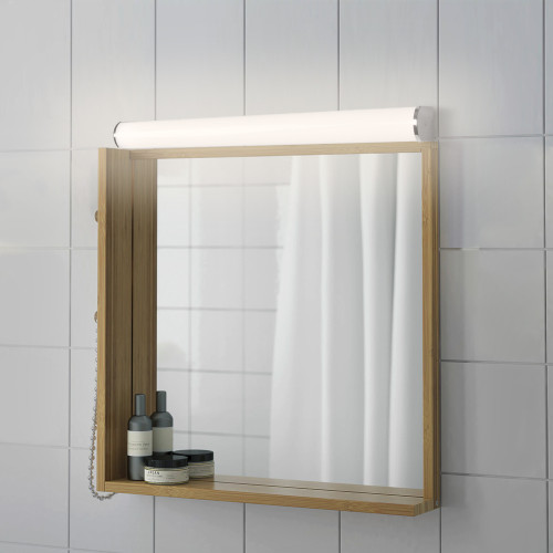 15W LED Bathroom Vanity Makeup Mirror Side Lights Over Mirror Wall Lamps IP44 Width 60CM Wide Lighting Range 1200Lm Natural White 4000K Not Dimmable 2 Lamps by Enuotek