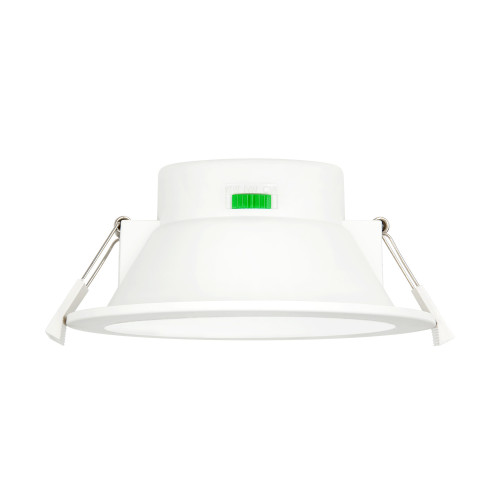 12W 1100Lm LED Large Diameter Ceiling Recessed Downlight Recessed Ceiling Lamp CCT 3000K 4000K 5000K Selectable Ceiling Hole Diameter 120-140MM 1 Pack by Enuotek