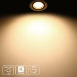 MR16 GU5.3 LED Spot Light Bulbs Spotlights 7W 650Lm 120° Beam Angle Warm White 3000K 12V AC DC GU5.3 Bi-Pin Base Not Dimmable Replace 60W Halogen Lamp 6 Pack by Enuotek