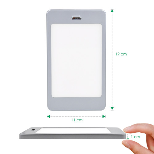 LED Under and Inside Cabinet Panel Lights Cupboard Lamps with Touchless Hand Sensor Switch, 3X 5W LED Lamps and DC12V Hardwired Connection with Power Adapter, Neutral White Lighting 4000K by Enuotek