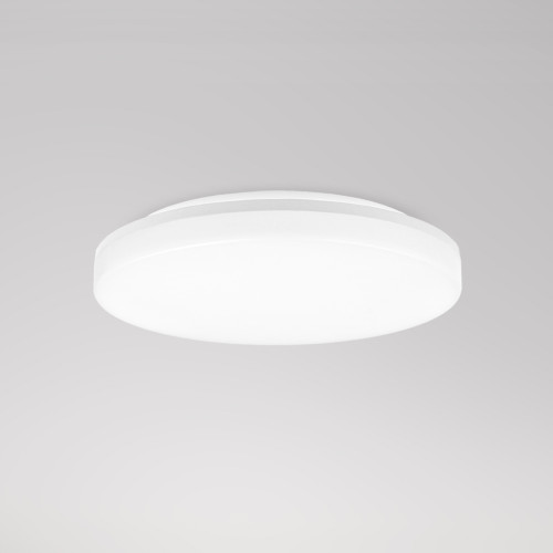 24W LED Large Round Bath Ceiling Panel Light Ceiling Lamp Diameter 33CM IP54 Waterproof CCT Selectable 3000K 4000K 5000K High Brightness 2100Lm Not Dimmable 1 Pack by Enuotek