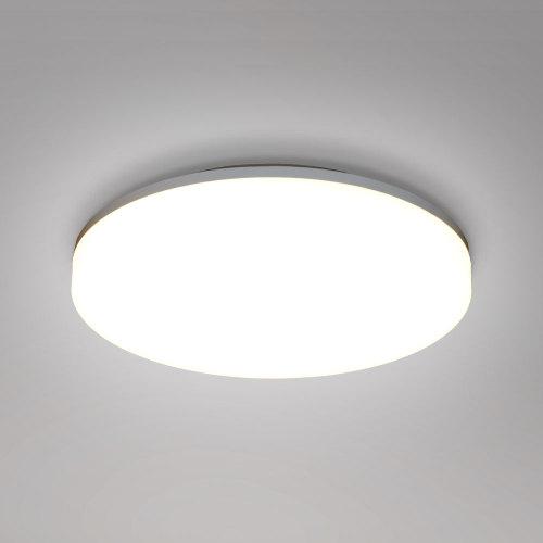 15W LED Bathroom Round Ceiling Light Fixture Ceiling Lamp Waterproof IP54 Diameter 22CM 1400Lm 3000K 4000K 5000K Lighting Color Selectable Not Dimmable AC175-240V 1 Pack