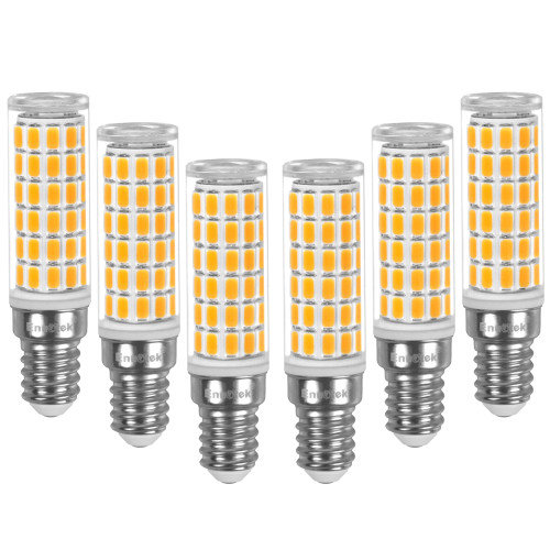 E14 LED Light Bulb 900Lm, 10W Equivalent 100W Incandescent 3000K Warm White AC100-265V, Non-Dimmable Small Edison Screw LED Chandelier Bulb for Living Room, Office, Kitchen& Bathroom, 6 Pack