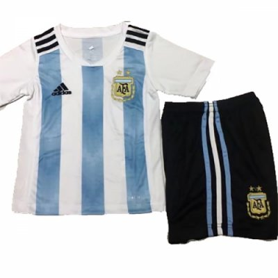 366cdbf7317 2018 World Cup World Cup Argentina Home Children s Jersey Kit(Shirt+Short)