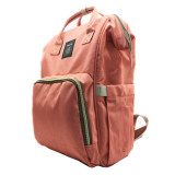 Large Capacity Diaper Bag for Baby Care Multi-Function Waterproof Travel Nappy Bags Backpack Fashion Mummy Nursing Bag w/Insulated Pockets 6 Colors