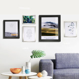 A4 Front Load Easy Open Snap Frame Professional Aluminum Poster Pictures Frame for for 8.27x11.7 Inches Graphics Wall Mounted w/Non-glare PVC lens