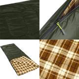 Warm Weather Sleeping Bag Envelope Shaped for Hiking Camping