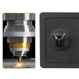 Reliancer Fingerprint Security Safe Box Fireproof Waterproof Lock Box Cabinets Gun Pistol Cash Strongbox Solid Steel Safety Jewelry Storage Money Boxes w/Deadbolt Lock&2 Emergency Keys&4 Battery Wall-Anchoring
