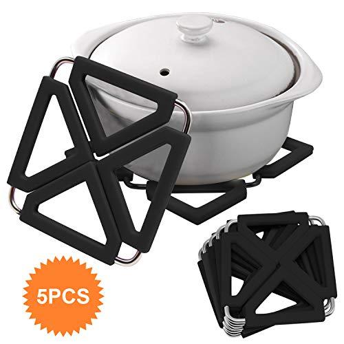 Non-Slip Heat Resistant Mat Coaster Placemat Saucepan Pot Holder C