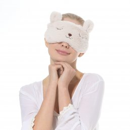 Aroma Season USB Heating Eye Mask for Eye Fatigue (Rabbit ) AS0007