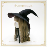 SweetDreamer Witch's House~Halloween Witch  hat suede double sided color