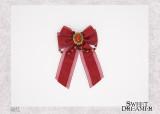 SweetDreamer Vintage Gem Bow Lolita Brooch Hairpin