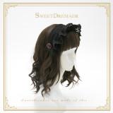 SweetDreamer Sunny's coffee shop~Lolita headband whit lace bow