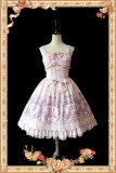 【Infanta】Lolita Girls 'Room JSK Two Color Printed collection