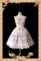 【Infanta】Lolita Girls 'Room JSK Two Color Printed collection